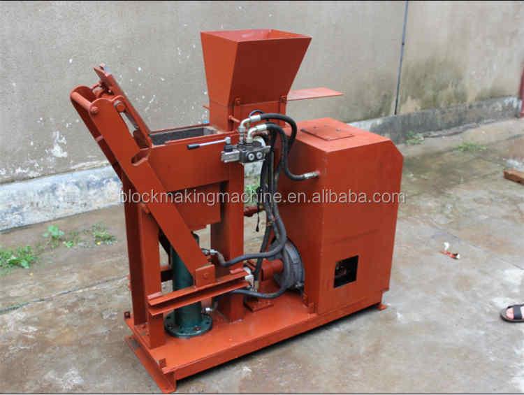Interlocking Compressed Earth Block Machine : Hr hydraulic compressed earth blocks machines