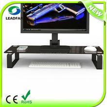 Popular practical detachable desktop computer shelf
