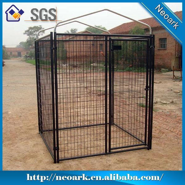 Heavy duty galvanized large dog kennel