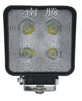 High bright 40w led work light IP67 square hot sell motorcycle offroad led light