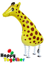 HAPPY TOGETHER Factory Wholesale Giraffe New Arrival Animal Shaped Foil Balloons