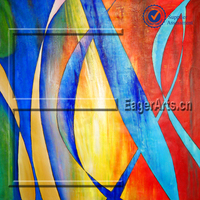 Modern Abstract Oil painting Original Art