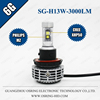 OSRING 2 years warranty H13 LED headlight 3000lm with C REE XHP50 chips and 5 colors DIY freely