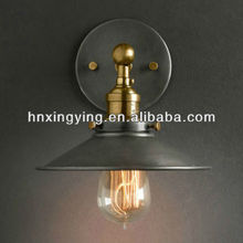 LD5007 Vintage Copper Brass holder Wall Lamp American style new classical lighting vintage bar lamps copper lamp personalized