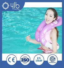 Water sports inflatable pvc adult swimming ring for sale