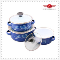 Hot sale China baked enamel cookware 2014