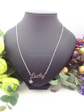 Unique design Letters and Initials Any Personalised Name Pendant Necklace