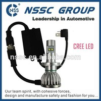 Guangzhou factory IP68 canbus H4 H11 all models super powerful cree led new 2015 car led headlight kit with best component