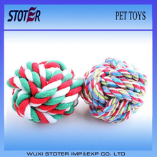 pet chewing toys made of cotton rope