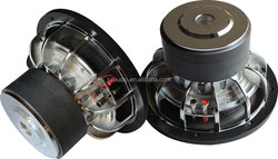 High performance 12 inch RMS Power 2500W car SPL speakers subwoofer