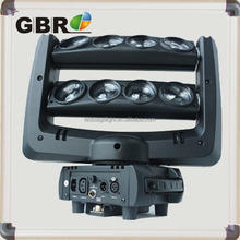 suitable for stage show and disco 8 eyes beam moving head spider lighting fixture