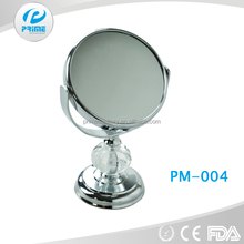 PRiME 2015 Jiangmen Personalized Plastic hand round mirrors compact