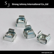 Made in Taiwan M5 zinc plated white Carbon steel cage nut