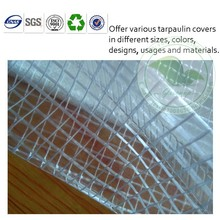 Crystal clear pvc tarpaulin for greenhouse/fencing/cover/dust curtain