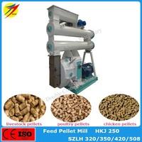 Hot Sale high efficiency ring die poultry feed pellet mill