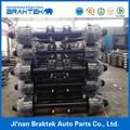 Europeo de camiones piezas de semi remolque ejes