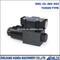 24v directa de la fábrica de ventas de control direccional de la válvula de solenoide de la válvula hidráulica