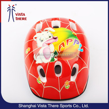 Lovely printing kid ski helmet,cute kid helmet,safety helmet light