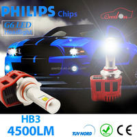 Qeedon low power consumption 45W 3600lumen super bright led headlight bulb h7 wholesale h4 motorcycle all in one