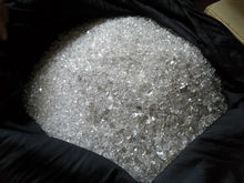 Diamond Quartz rough top quality 23 Kg and the price is US$ 500 per Kg from Pakistan