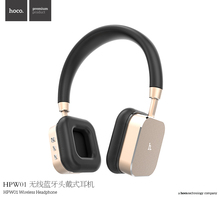 Original HOCO HPW01 3.5mm Universal head-mounted Headphone Stereo Sound Wireless Bluetooth headset For Mobile Phone MT-4722