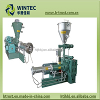 planetary roller plastic extrusion machine for PVC sheet making