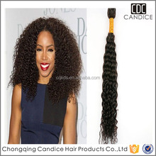 Top Quality Virgin Chinese Curly Hair Human Hair Extension Kinky Curl