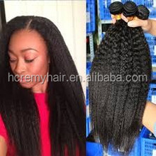 Hc Remy Hair yaki perm weave russian weave
