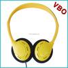 CE RoHs lightweighted customed single plug cheap airline headband headphones