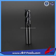 VKT-------45HRC High precision CNC Flat Carbide Milling Cutter -----12*75