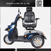 IO HAWK yellow BRI-S06 electric 3 wheel scooters for adults