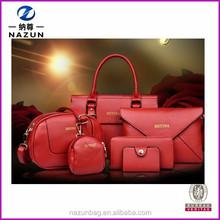 Wholesale Women Cheap Leather Set Bags