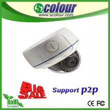 2015 hot sell ip camera 720P/960P/1080P dome ip camera with POE ,night vision infrared thermal imager