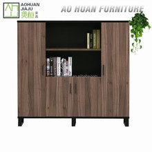 2015 New Design Modern Wooden Office Filing Cabinet