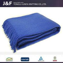 2015 sleep warm blanket wool,100% wool blanket