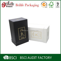 Blank Free Sample Custom Design Packaging Paper Perfume Box