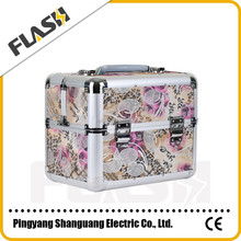 Good Quality Hard Frame Beauty Makeup Case Aluminum Cosmetic Box