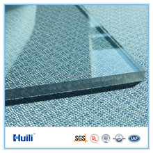 8mm 2100mm Width Clear Color Polycarbonate Solid Skylight Sheets UV Protecor Plastic Panel Roof