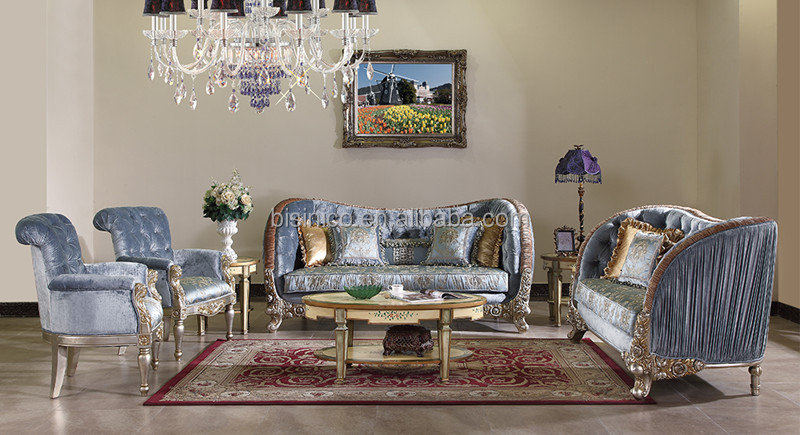 British Antique Reproduction, Windsor Vitoria Style Living Room Furniture  Set  Three Seat + Two Seat + Single Sofa .