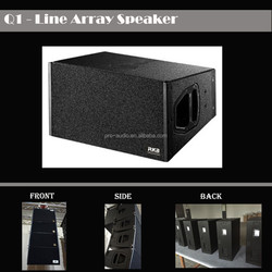 "Q1 Pro Line Array Speaker System/Dual 10"" array loudspeaker"