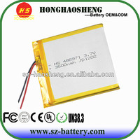 hot sale long cycle life rechargeable 3500mah tablet pc battery