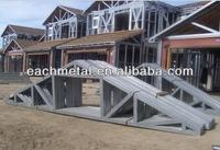 easy install light steel roof trusses