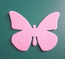 die cut felt butterfly shape felt crafts supplies for Easter decorations