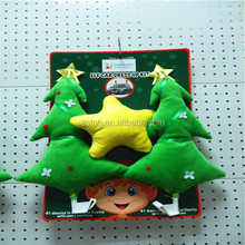 2014 new design Christmas tree car accessory / lovely star car decoration kit