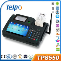Telpo TPS550 android Biometrics pos machine rfid smart card reader gprs printer