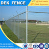 Heavy duty chain link fence with barbed wire fencing materials
