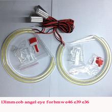 cob angel eye rings 131mm solid color fir for E46 e36 e39 headlight