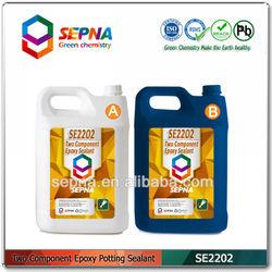 SE2202 Two component room temperature epoxy glue for plastic