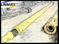Unimate Tailored-Made All Types Of Rotary Drilling Kelly bar IMT AF 200 Piling rig kelly interlocking presurizing kelly bars