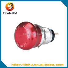anodized on off emergency stop push button switch